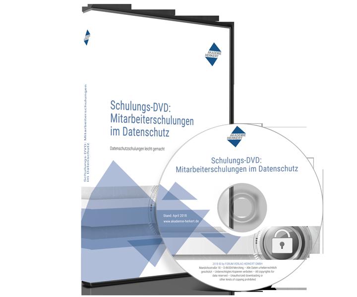 Schulungs-DVD Mitarbeiterschulungen Datenschutz