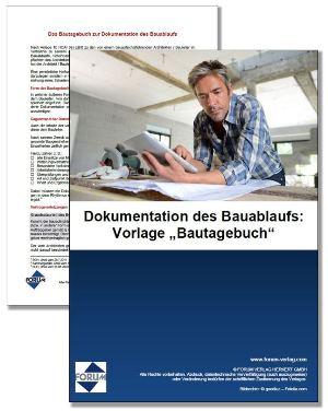 Vorschau Bauleitertagebuch