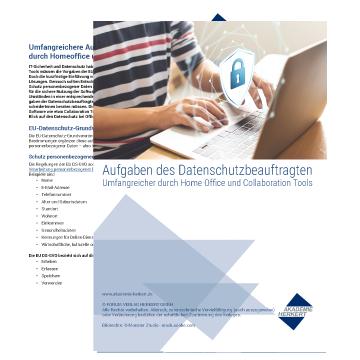 Gratis-Download:<br /><b><i>Aufgaben des Datenschutzbeauftragten</i></b>