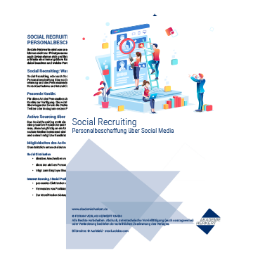 Gratis-Download:<br /><b><i>Social Recruiting</i></b>