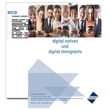 Vorschau Whitepaper Digital natives und digital immigrants