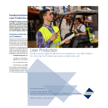 Vorschau Whitepaper Lean Production